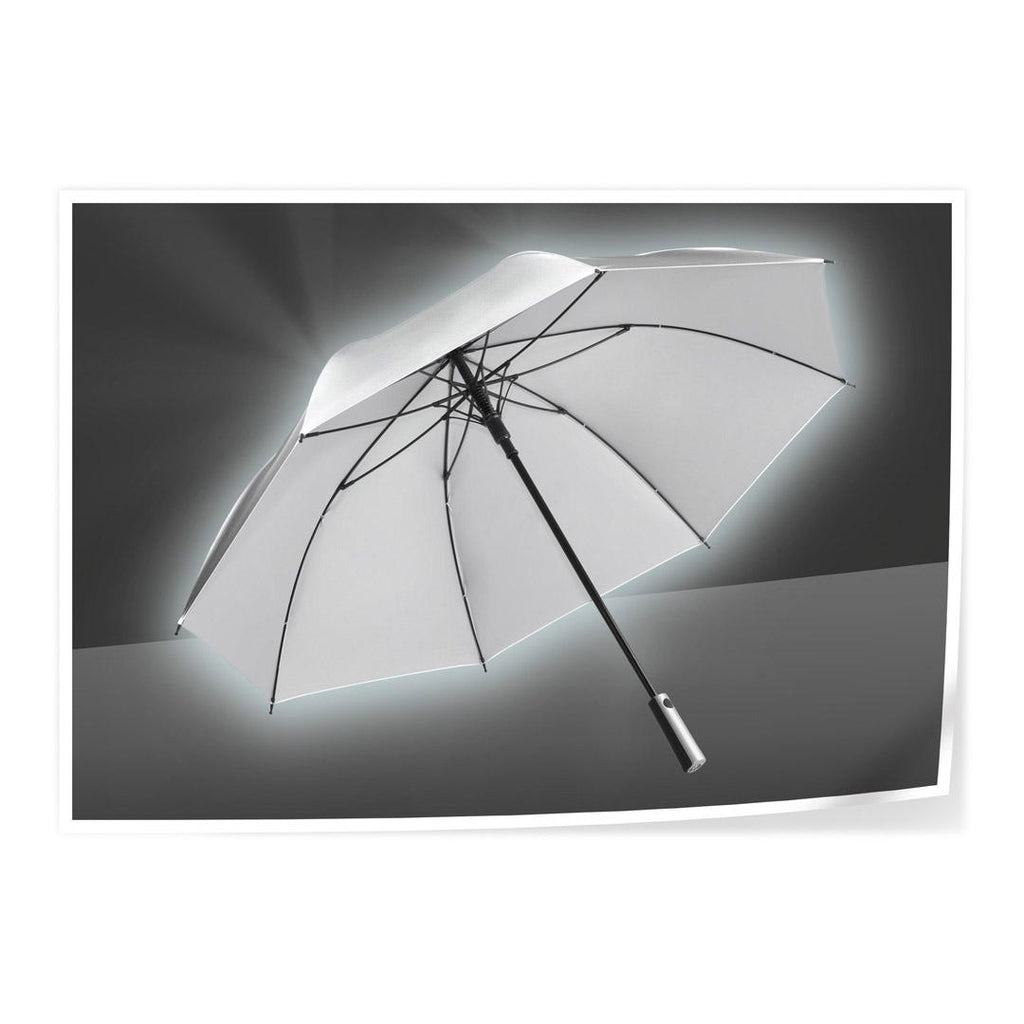 FARE Reflex Reflective Automatic Golf Umbrella - Silver