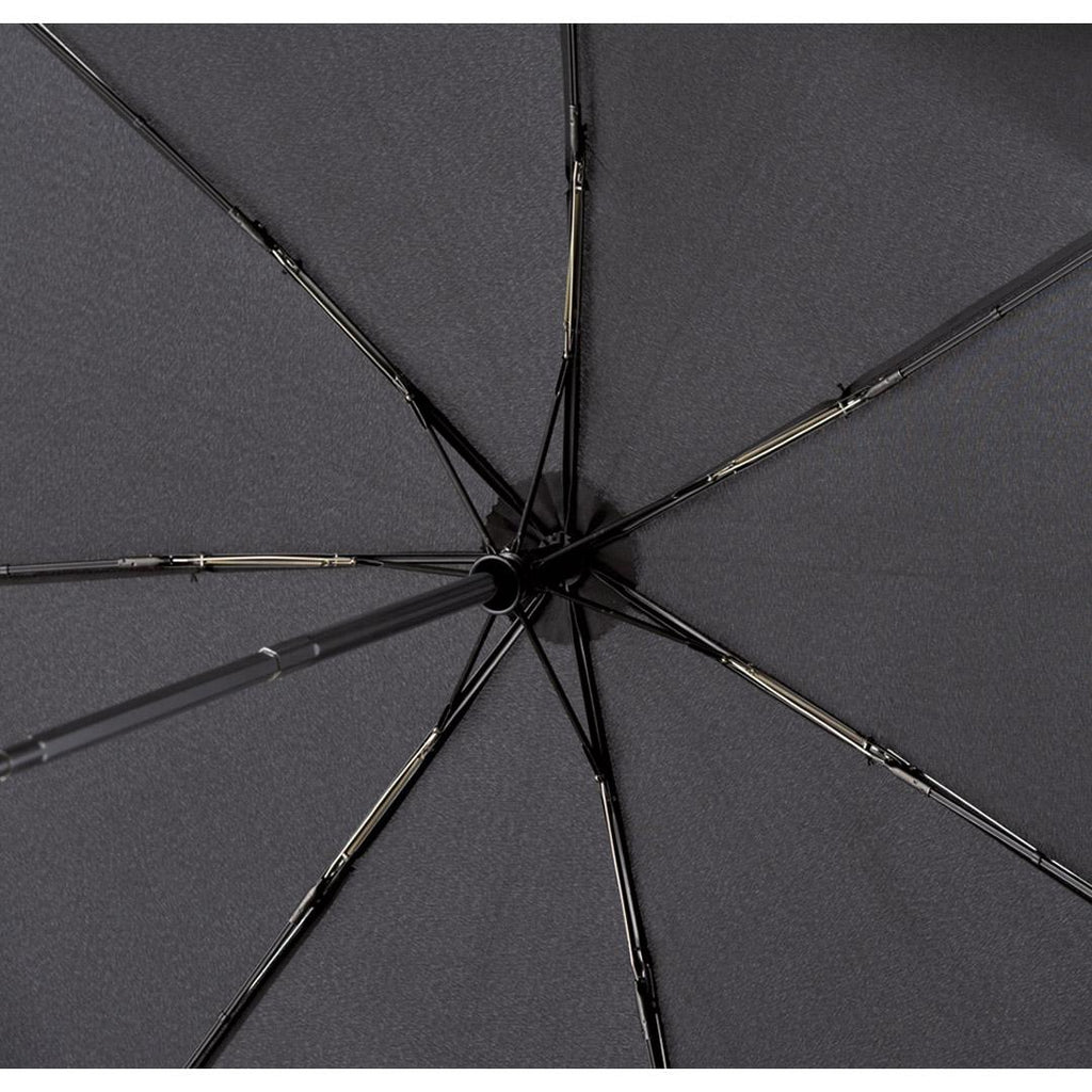 FARE Lumina Safebrella LED AOC Folding Umbrella - Black