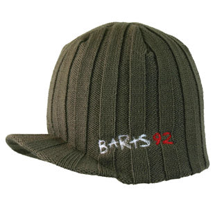 Barts Mens 'PeakHeli Beanie' Winter Hat khaki