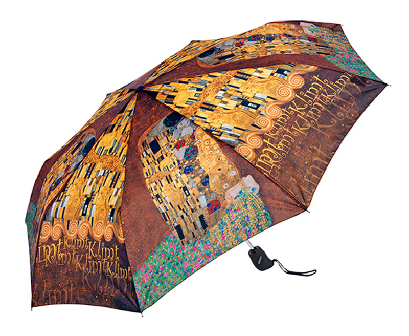 "Doppler Art Collection Klimt ""The Kiss"" Auto Folding Umbrella"