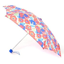 "Totes Mini 5 Section ""Big Flowers"" Folding Umbrella"