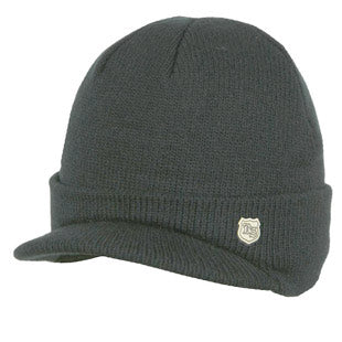 Barts Mens 'Frank Beanie' Black Winter Hat
