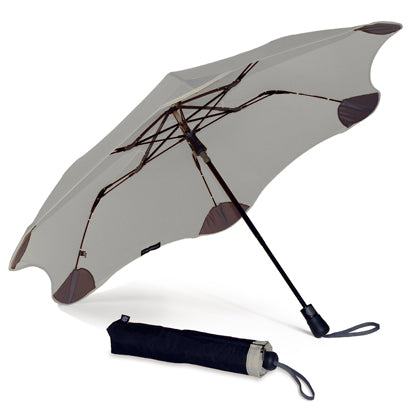 Blunt XS Metro Auto Open Folding Umbrella - Grey