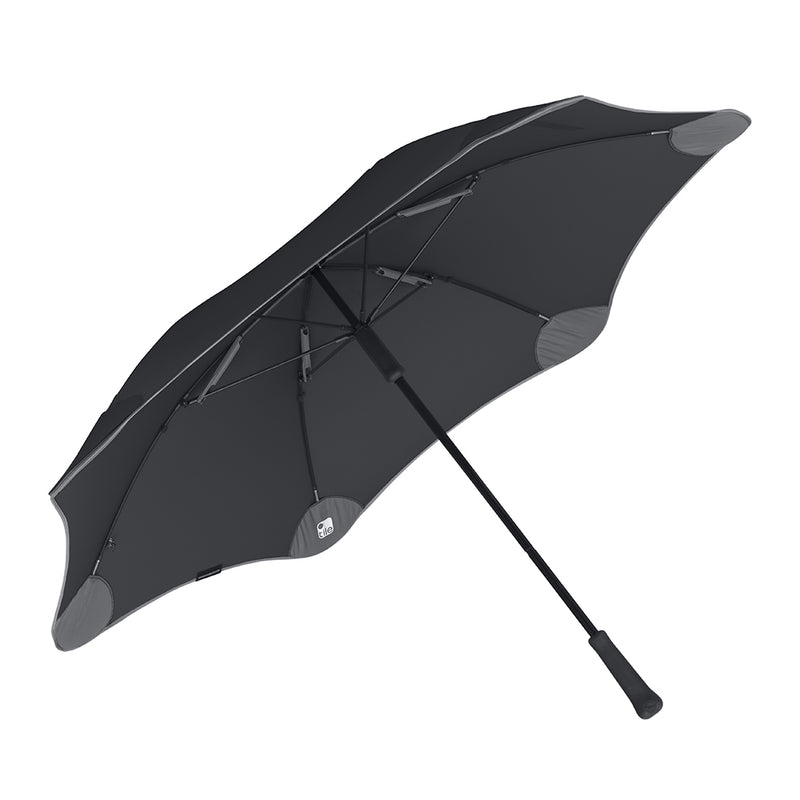 Blunt Classic + Tile Stick Umbrella - Black with Grey Accents