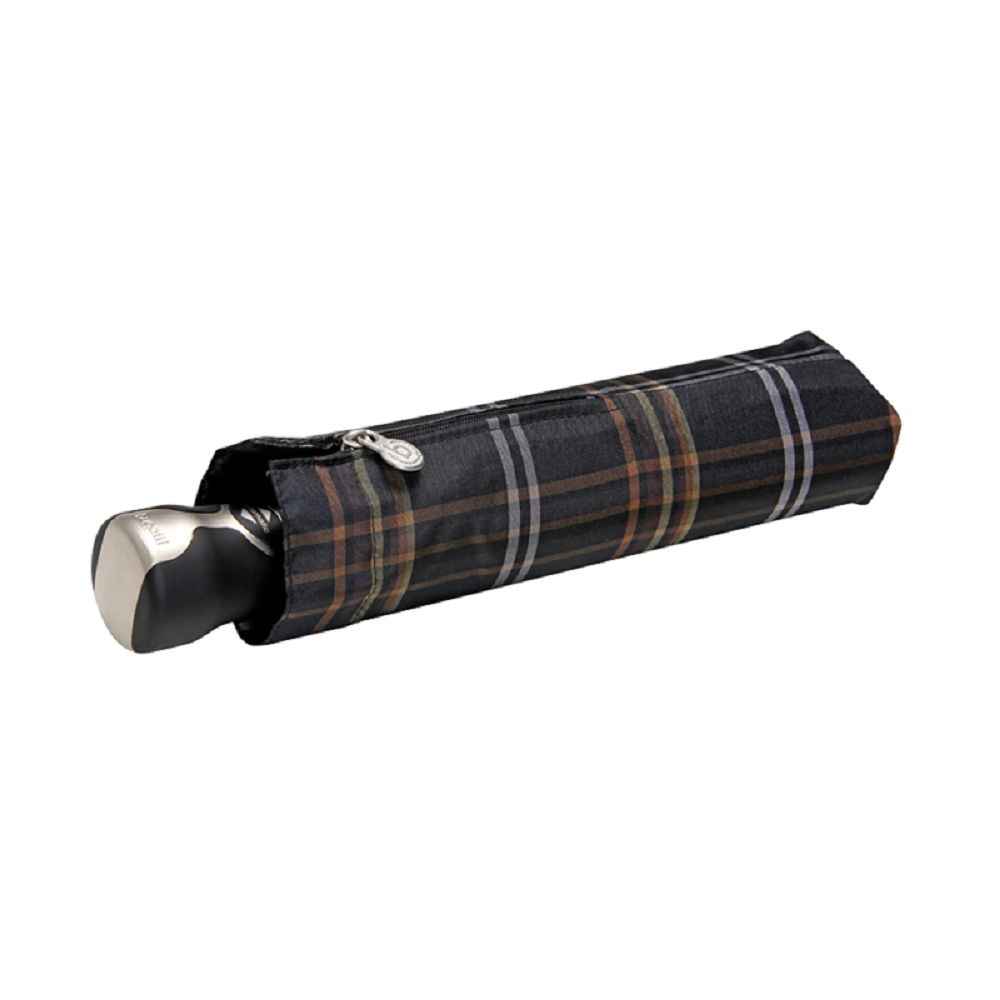 Bugatti Gran Turismo Automatic Folding Umbrella - Olive Check