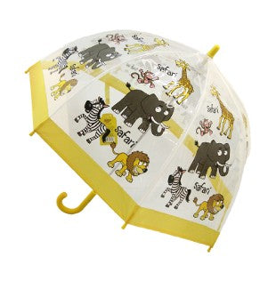 Children's PVC Dome Safari Animals  Umbrella by Bugzz