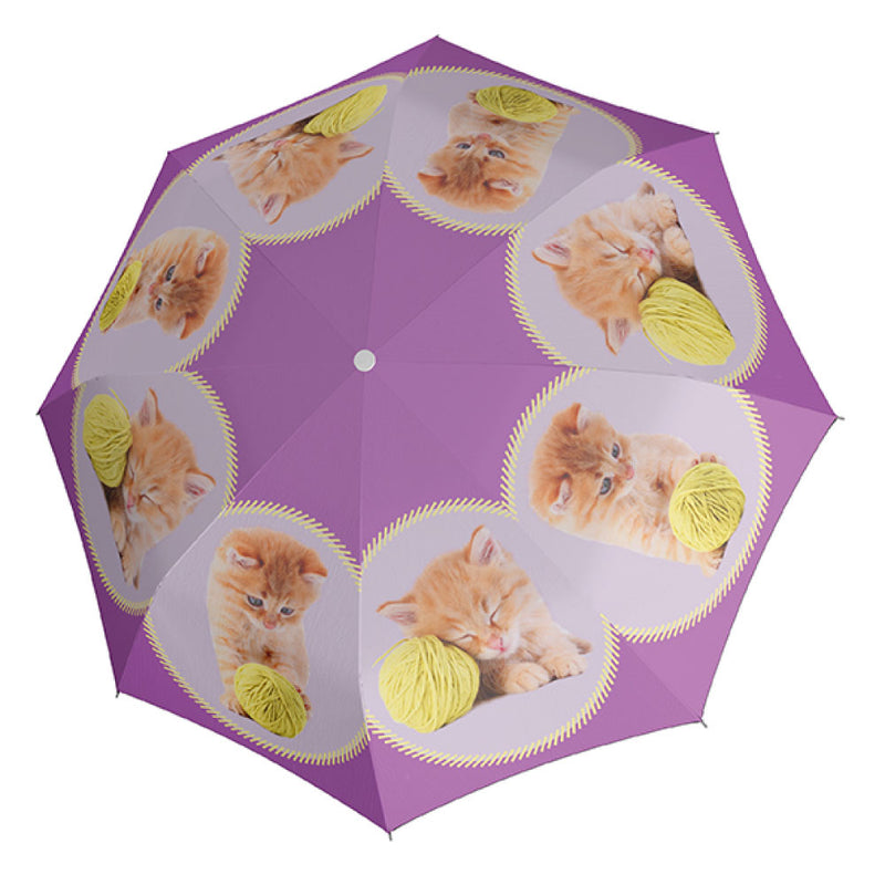 Doppler Children's Art Collection 'Kitty' Auto Umbrella
