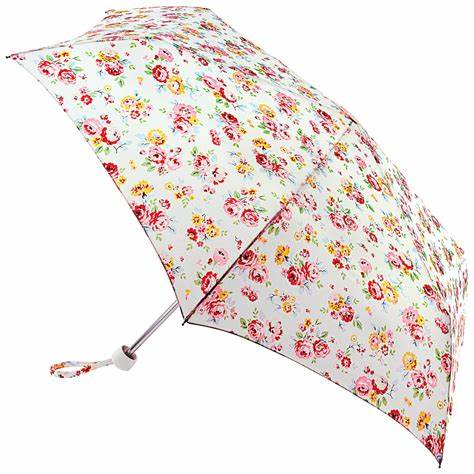 Cath Kidston Minilite 2 Folding Umbrella - Wells Rose