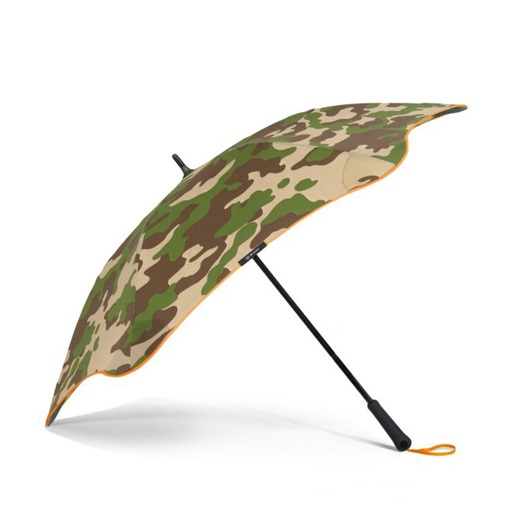 Blunt Classic Stick Umbrella - Camo with Orange Accents
