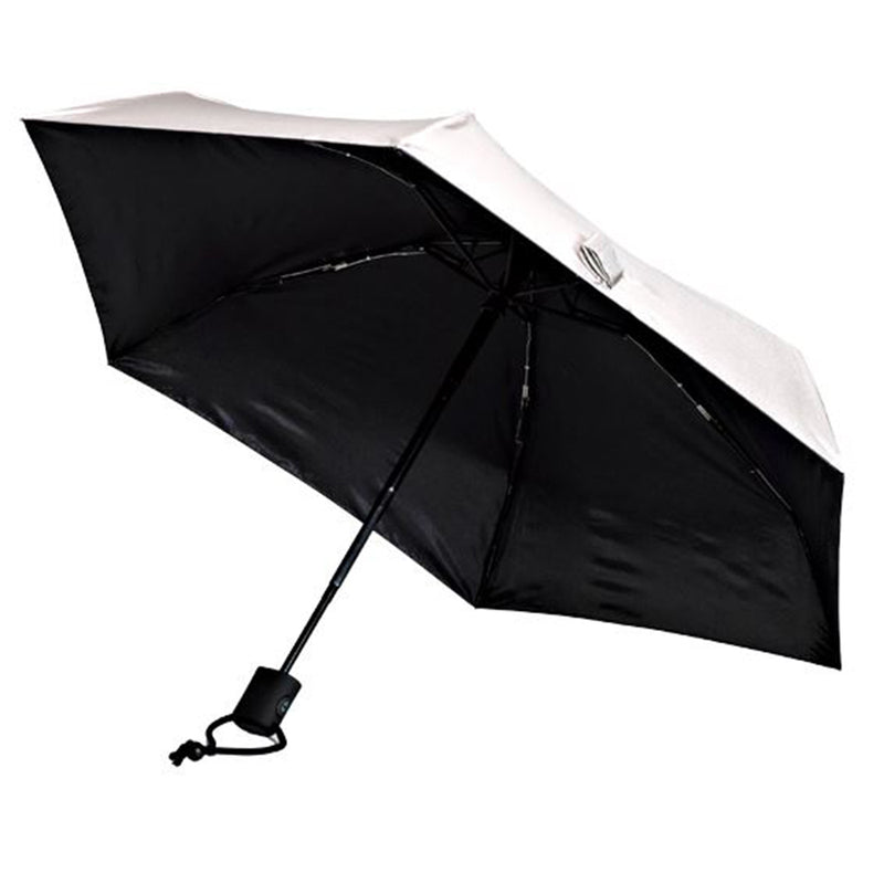 Dainty UV 50+ Protection Automatic Travel Umbrella  - Silver