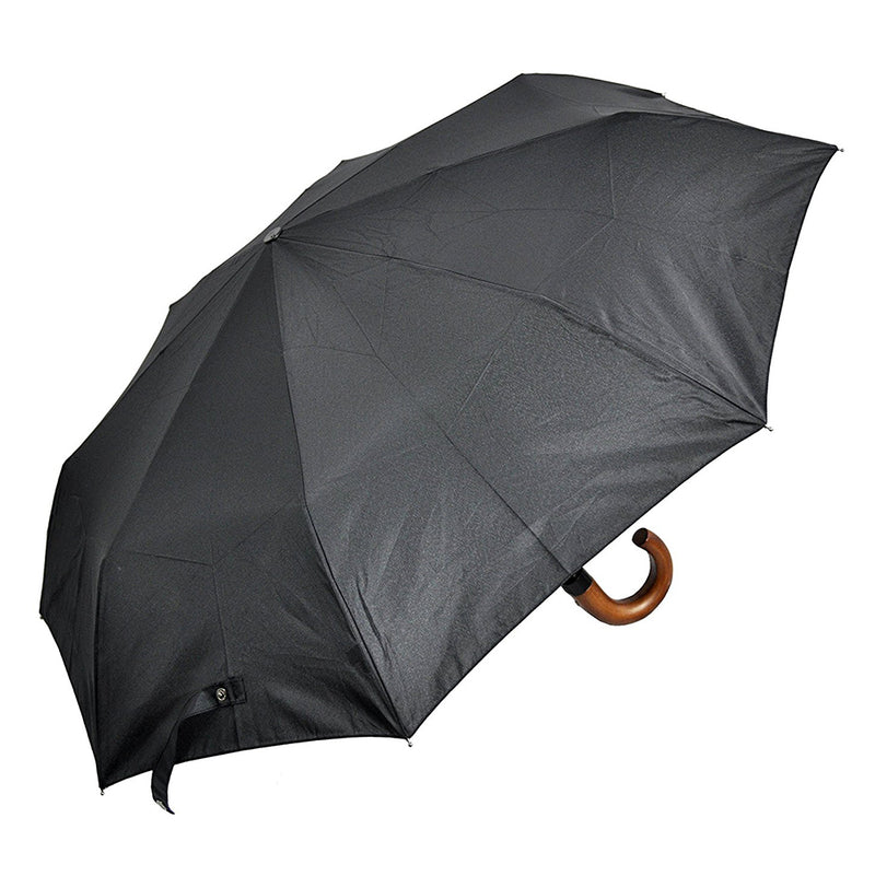 Daniel Hechter Classic AOC Wood Hook Folding Umbrella