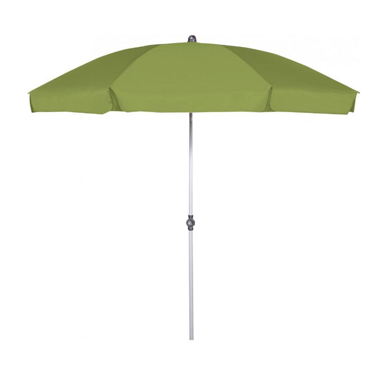 Doppler Active  UV 50+ Protection 2.4 Metre Beach/Garden Parasol - Fresh Green