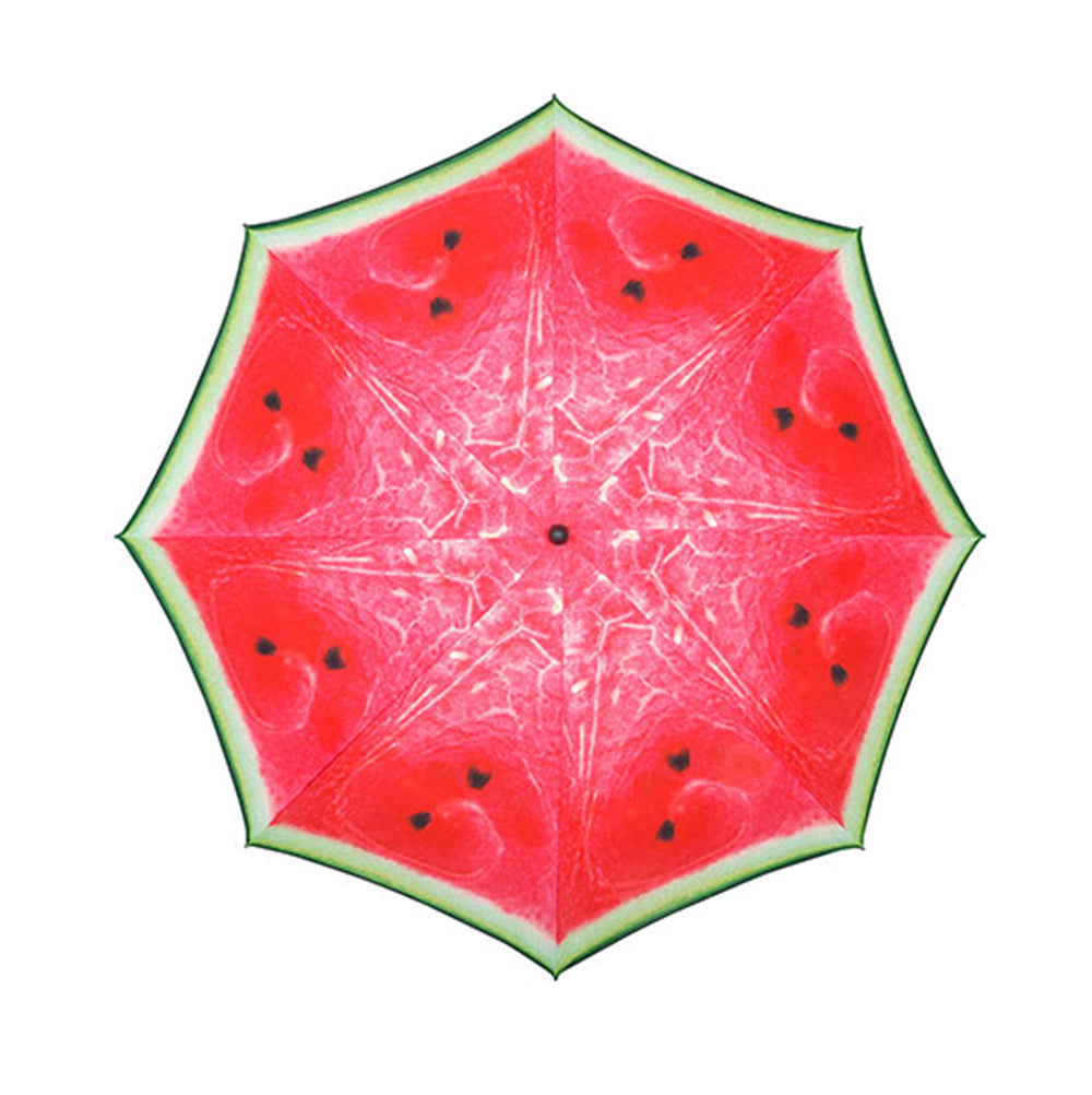 Doppler Funky Fruits UV 50+ Protection 2 Metre Beach/Garden Parasol - Watermelon