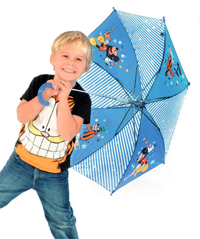 Doppler Children's Character Disney Umbrella Mickey & Goofy - Blue