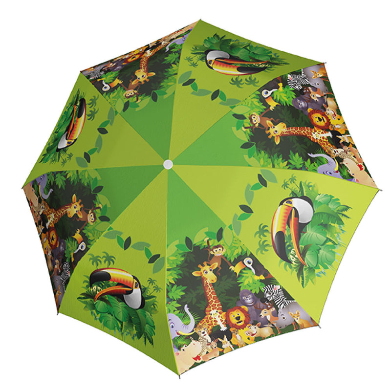 Doppler Children's Art Collection 'Jungle Fun' Auto Umbrella