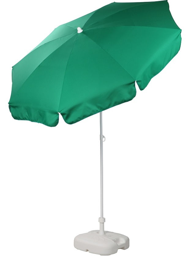 Patio / Garden / Beach Parasol Umbrella - Emerald Green
