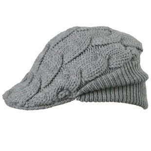 Barts Mens 'Jamie' Heather Grey Wooly Winter Cap