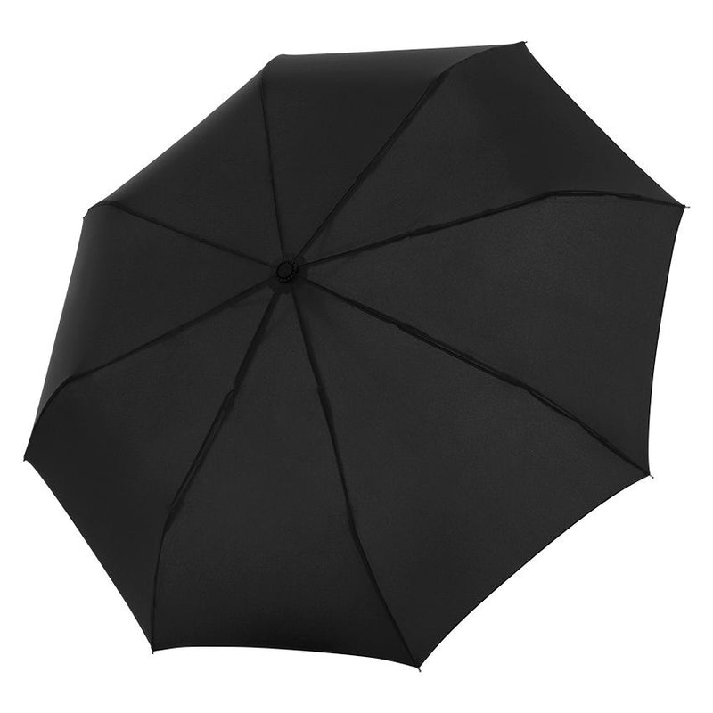Doppler 'Flipback' Black Pocket Umbrella - 140km/h Wind Tunnel Tested!