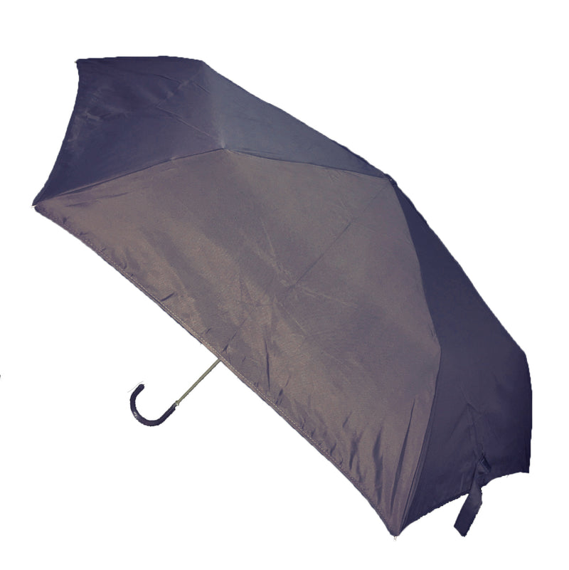 Hook Handle Folding Umbrella - Navy