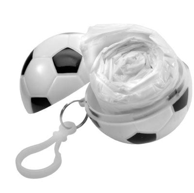 Volume Poncho in a White Plastic Football - Available from 250 Pieces