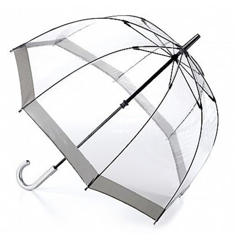 "Fulton Birdcage Clear Dome Umbrella ""As used by the Queen"""