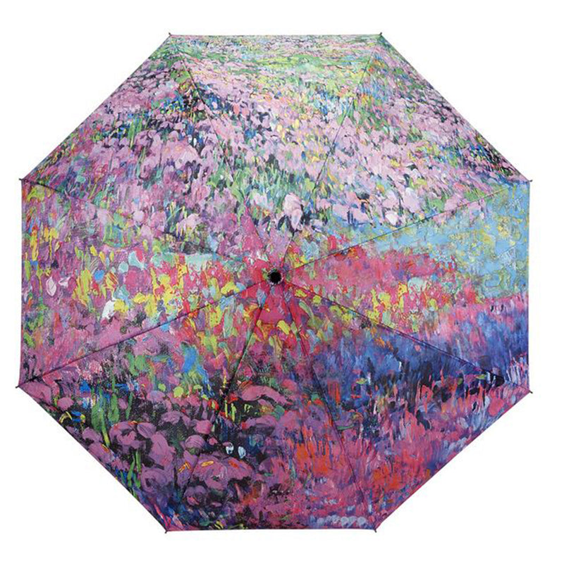 Galleria Floral Automatic Folding Umbrella - Garden Symphony