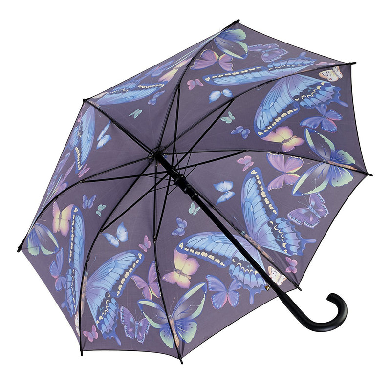 Galleria Automatic Walking Umbrella - Moonlight Butterfly