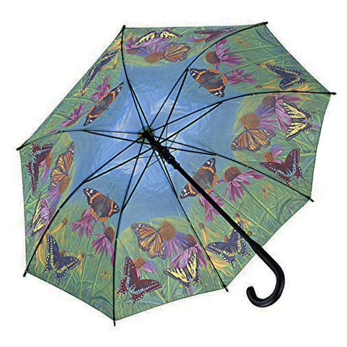 Galleria Automatic Walking Umbrella - Mountain Butterfly