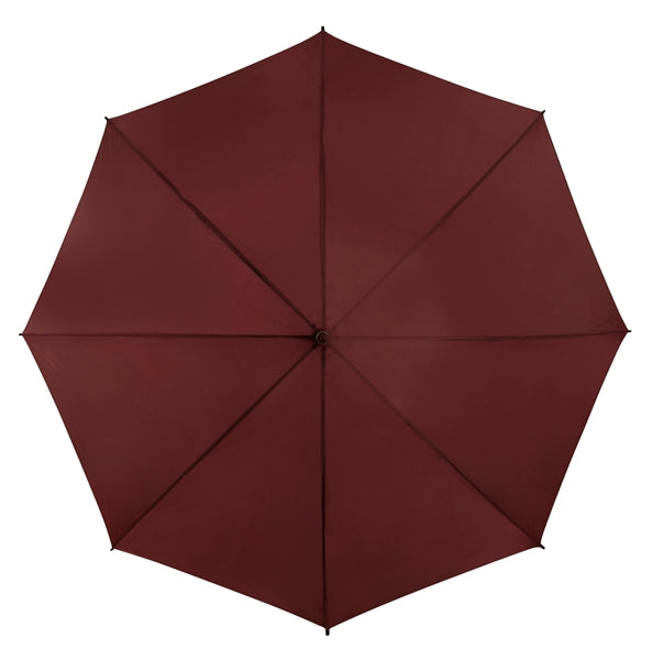 The Mirage Wind Resistant Golf Umbrella - Burgundy