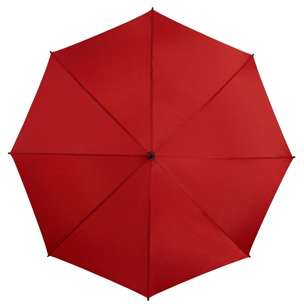 The Mirage Wind Resistant Golf Umbrella - Red