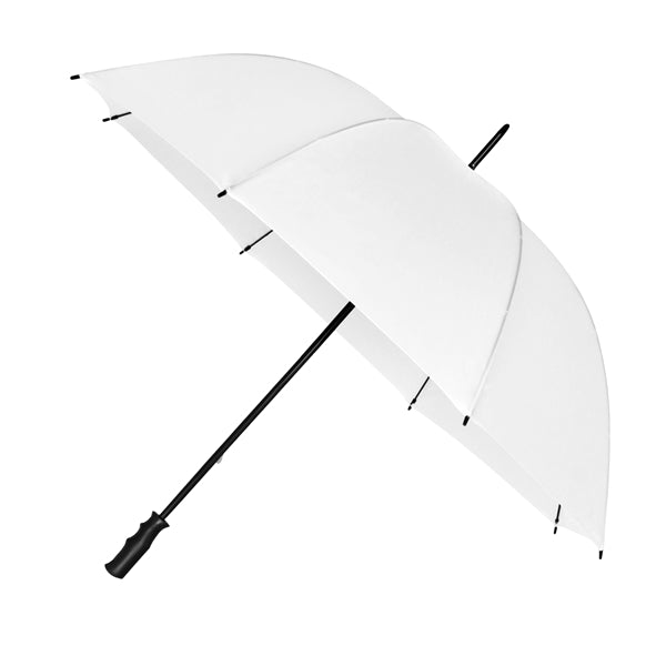 The Mirage Wind Resistant Golf Umbrella - White