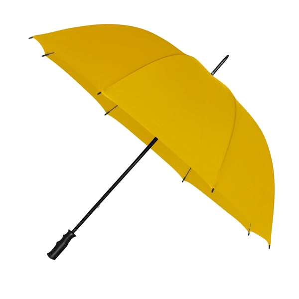The Mirage Wind Resistant Golf Umbrella - Yellow