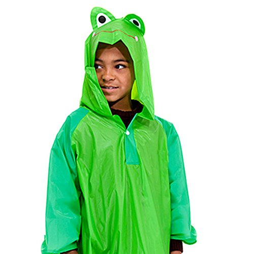 Children's Frog Waterproof Poncho