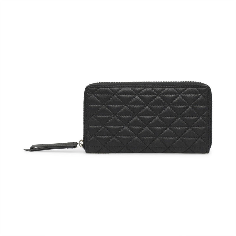 Markberg 'Grith' Black Quilted Purse