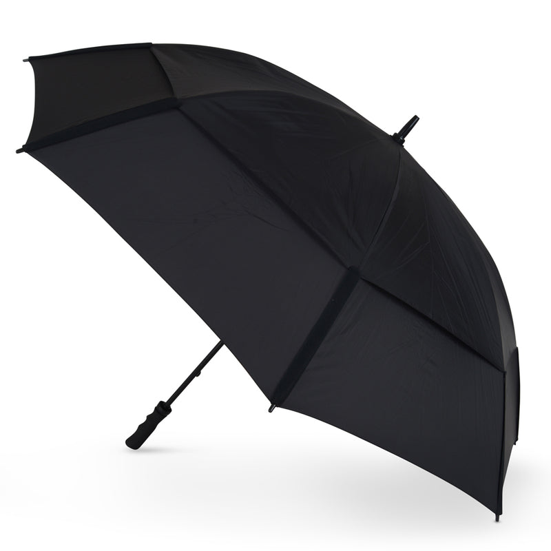 GustBuster Golf Umbrella Pro Series 62 All Black