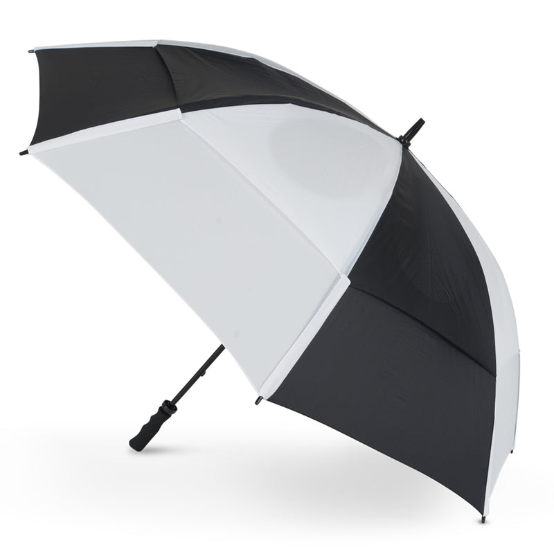 GustBuster Golf Umbrella Pro Series 62 Black & White