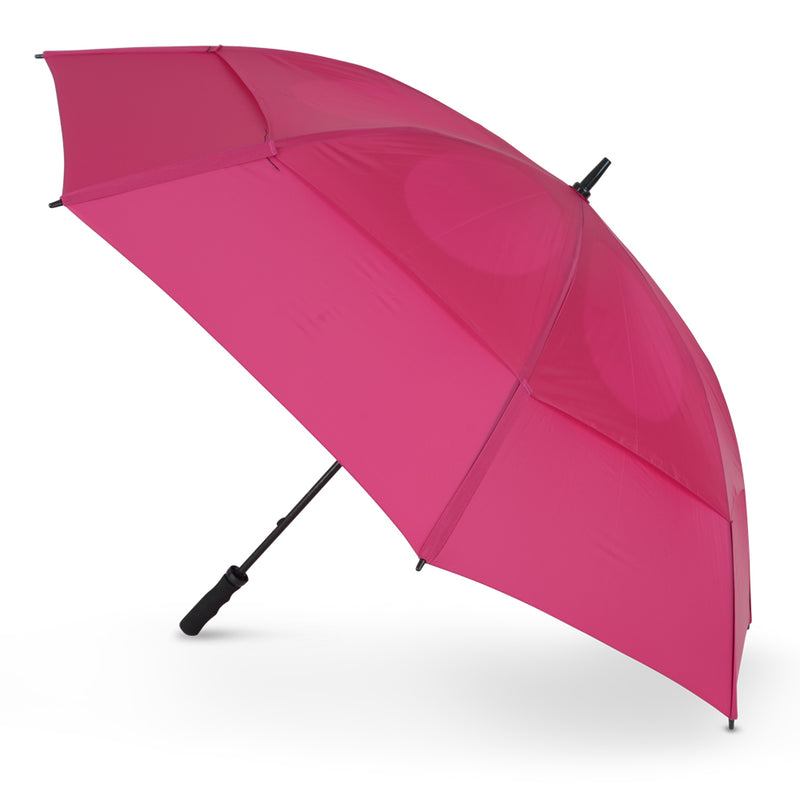 GustBuster Golf Umbrella Pro Series 62 Pink
