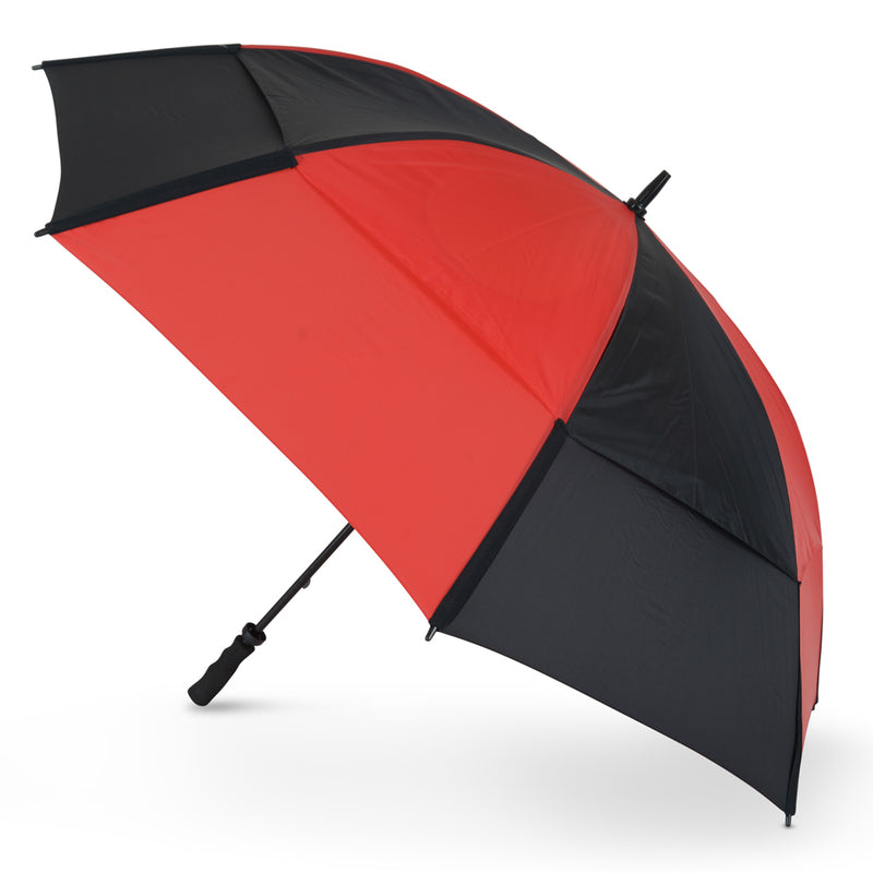 GustBuster Golf Umbrella Pro Series 62 Red & Black