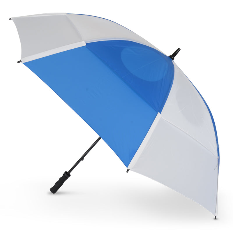 GustBuster Golf Umbrella Pro Series Blue & White