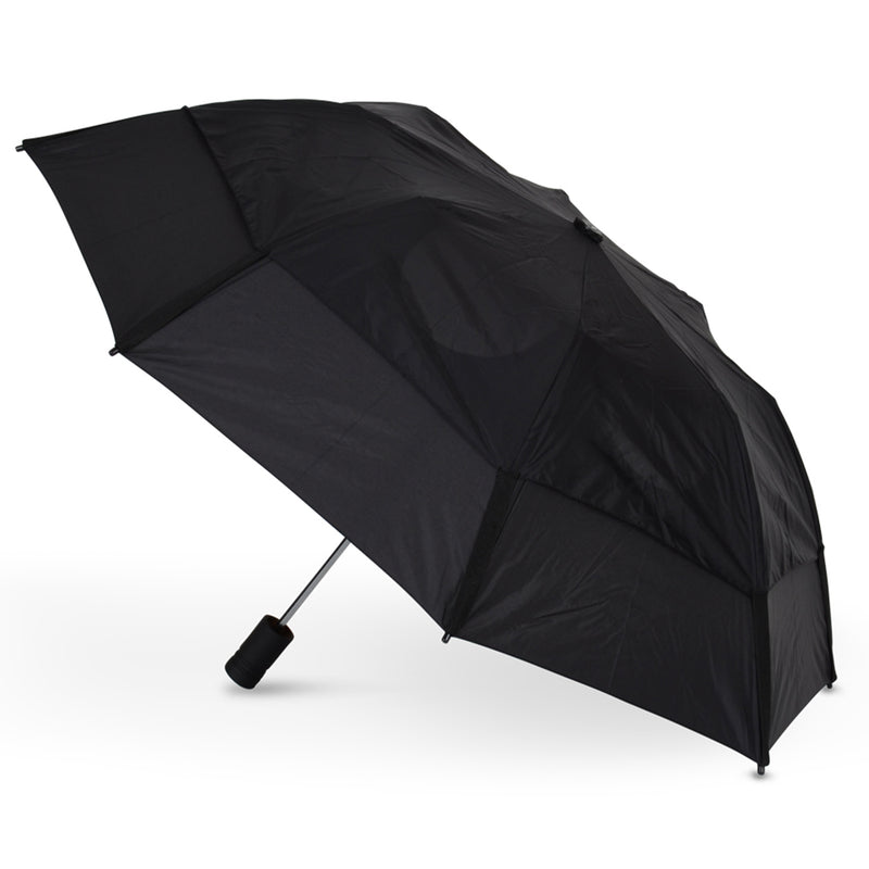 GustBuster Metro Auto Folding Vented Umbrella (Solid Colour)