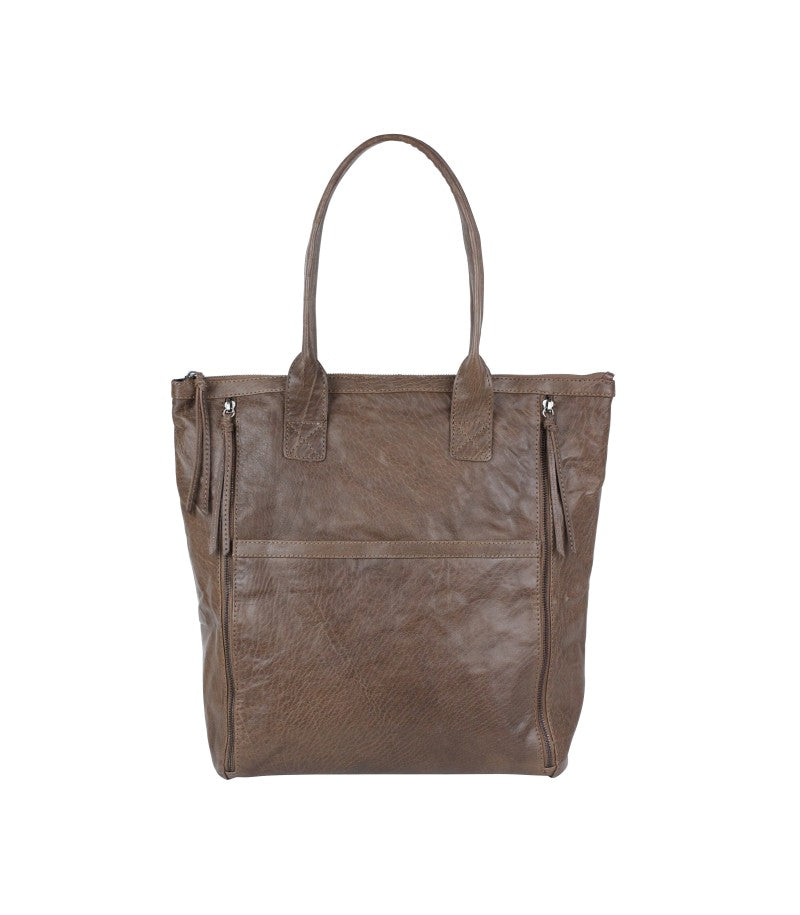 Markberg Cognac 'Henriette' Large Leather Work Bag