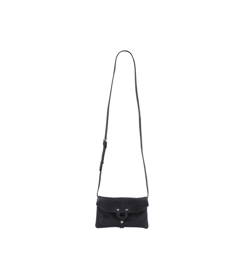 Markberg 'Hilary' Black Cross Body Leather Handbag