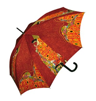 "Doppler Art Collection Klimt ""Hope"" Auto Walking Umbrella"