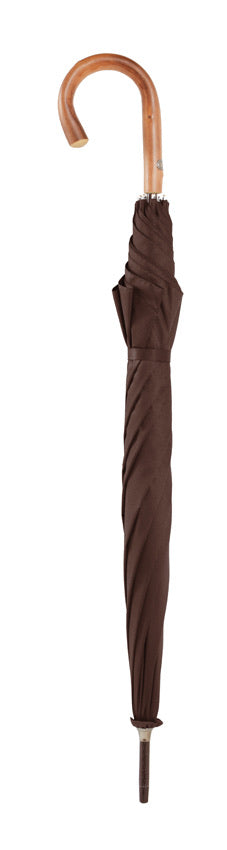 Bugatti Knight Luxury Handmade Auto Walking Umbrella - Brown