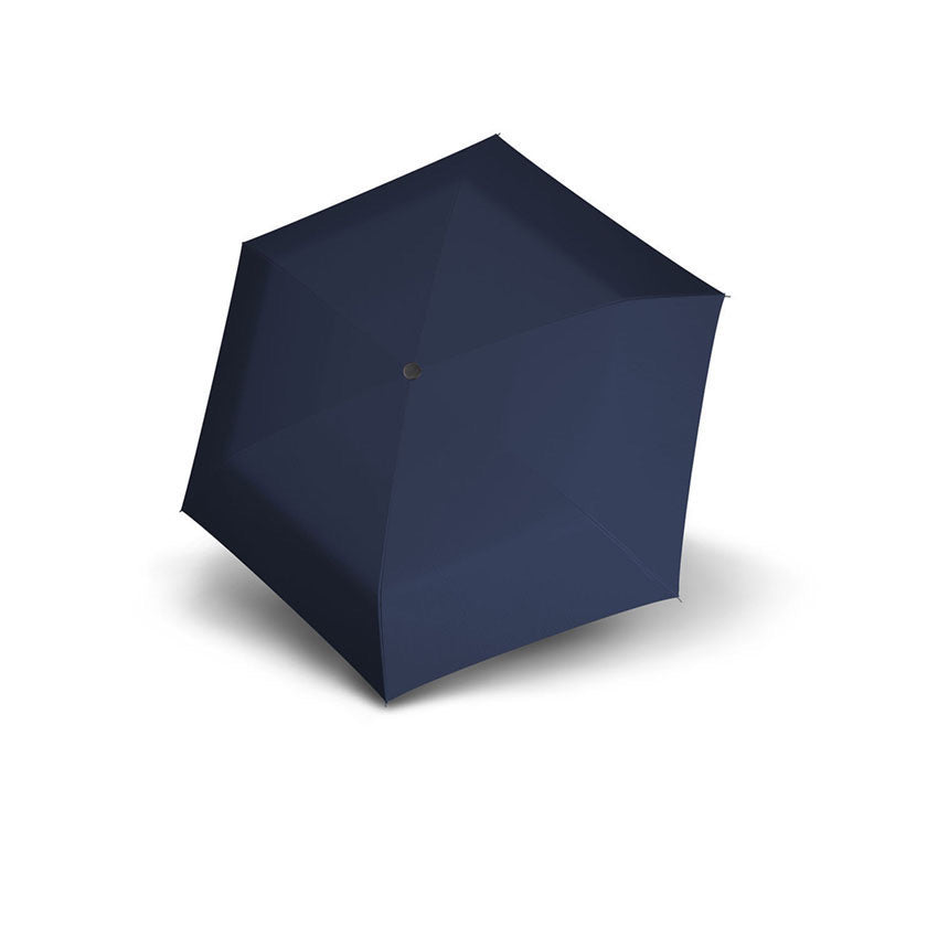 Carbon Steel Mini Slim Folding Umbrella - Navy