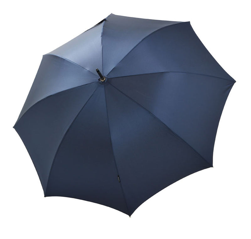 Bugatti Knight Luxury Handmade Auto Walking Umbrella - Navy