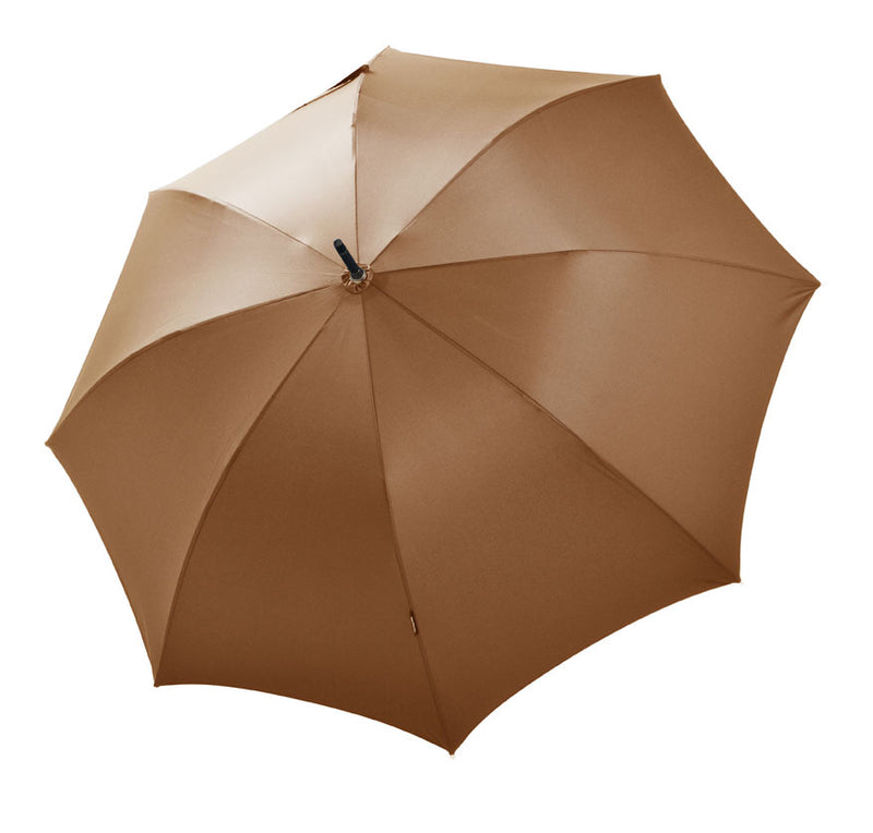Bugatti Knight Luxury Handmade Auto Walking Umbrella - Camel