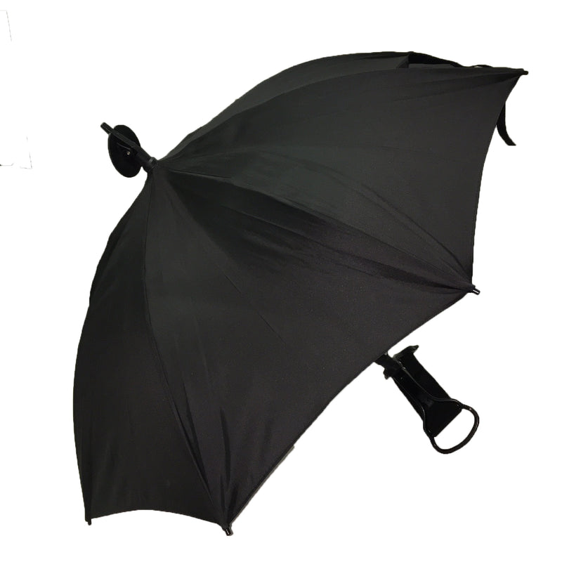 Shooting Stick 'Seat' Umbrella with Black Canopy