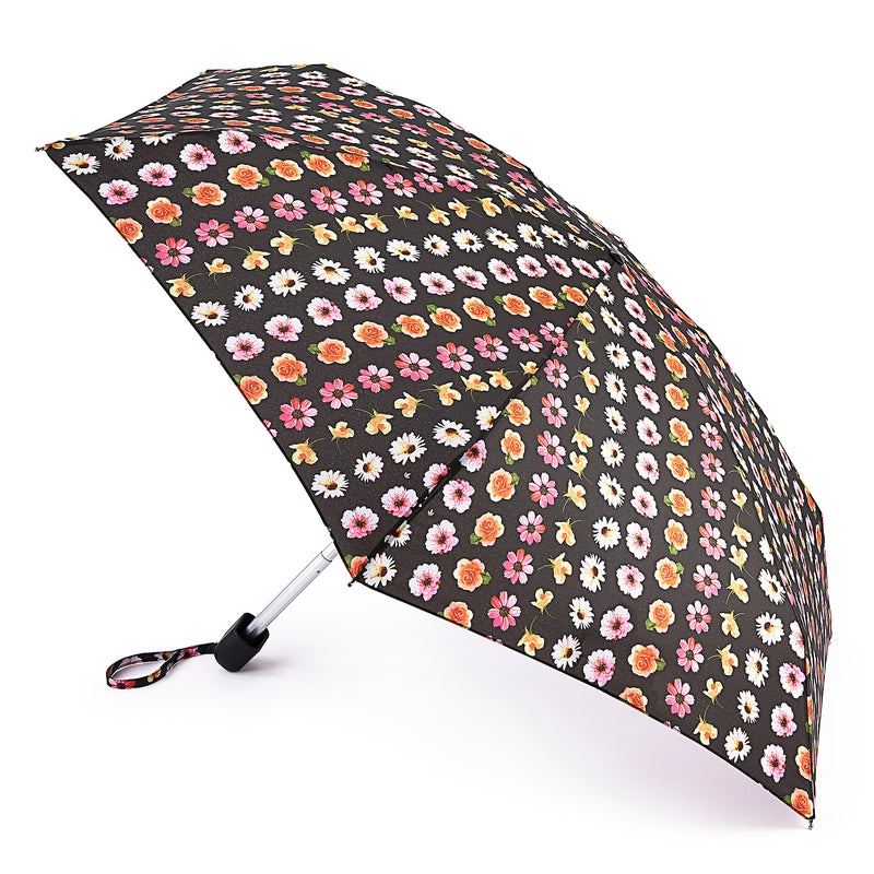 Fulton Tiny Folding Umbrella - Floral Chain