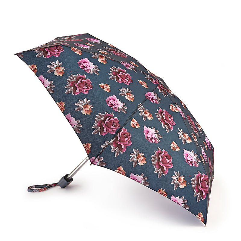 Fulton Tiny Folding Umbrella - Steel Roses